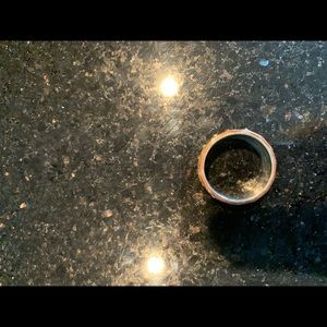Spinner meditation ring size 8
